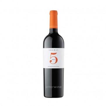 vino abadal 5 merlot 2016