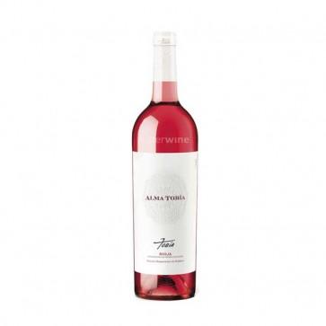 vino alma tobía rosado fermentado en barrica 2016